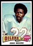 1975 Topps #271  Zeke Moore  Front Thumbnail