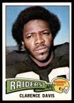 1975 Topps #278  Clarence Davis  Front Thumbnail