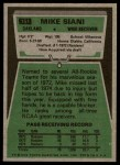 1975 Topps #151  Mike Siani  Back Thumbnail