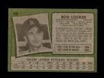 1971 Topps #356  Bob Locker  Back Thumbnail