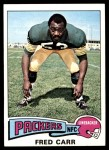 1975 Topps #233  Fred Carr  Front Thumbnail