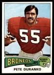 1975 Topps #187  Pete Duranko  Front Thumbnail