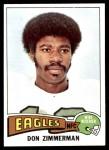 1975 Topps #192  Don Zimmerman  Front Thumbnail
