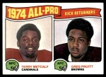 1975 Topps #225   -  Terry Metcalf / Greg Pruitt All-Pro Returners  Front Thumbnail