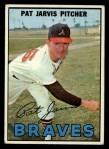1967 Topps #57  Pat Jarvis  Front Thumbnail