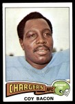 1975 Topps #284  Coy Bacon  Front Thumbnail