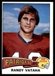 1975 Topps #156  Randy Vataha  Front Thumbnail