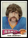 1975 Topps #163  Tom Dempsey  Front Thumbnail