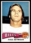 1975 Topps #185  Paul Seymour  Front Thumbnail