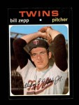 1971 Topps #271  Bill Zepp  Front Thumbnail