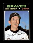 1971 Topps #223  Cecil Upshaw  Front Thumbnail