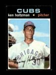 1971 Topps #410  Ken Holtzman  Front Thumbnail