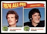 1975 Topps #217   -  Ted Hendricks / Phil Villapiano All-Pro Linebackers Front Thumbnail