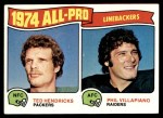 1975 Topps #217   -  Ted Hendricks / Phil Villapiano All-Pro Linebackers Front Thumbnail