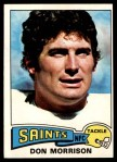 1975 Topps #242  Don Morrison  Front Thumbnail