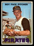 1967 Topps #49 ^COR^ Roy Face  Front Thumbnail