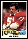1975 Topps #254  Jim Lynch  Front Thumbnail