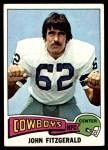 1975 Topps #257  John Fitzgerald  Front Thumbnail