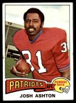 1975 Topps #266  Josh Ashton  Front Thumbnail
