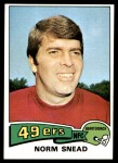 1975 Topps #275  Norm Snead  Front Thumbnail