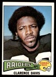 1975 Topps #278  Clarence Davis  Front Thumbnail