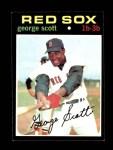 1971 Topps #9  George Scott  Front Thumbnail