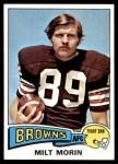1975 Topps #374  Milt Morin  Front Thumbnail