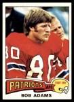 1975 Topps #407  Bob Adams  Front Thumbnail