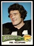 1975 Topps #320  Phil Villapiano  Front Thumbnail