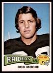 1975 Topps #349  Bob Moore  Front Thumbnail