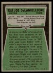 1975 Topps #359  Joe DeLamielleure  Back Thumbnail