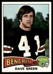 1975 Topps #394  Dave Green  Front Thumbnail