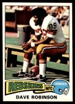 1975 Topps #46  Dave Robinson  Front Thumbnail