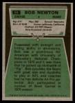 1975 Topps #69  Bob Newton  Back Thumbnail