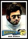 1975 Topps #82  Bob Babich  Front Thumbnail