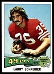 1975 Topps #58  Larry Schreiber  Front Thumbnail