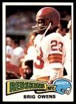 1975 Topps #78  Brig Owens  Front Thumbnail