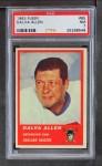 1963 Fleer #65  Dalva Allen  Front Thumbnail