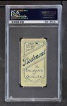 1909 T206 BLK Christy Mathewson  Back Thumbnail