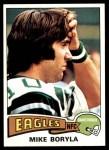1975 Topps #417  Mike Boryla  Front Thumbnail
