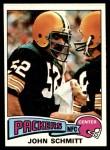 1975 Topps #289  John Schmitt  Front Thumbnail