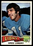 1975 Topps #15  Greg Landry  Front Thumbnail