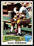 1975 Topps #46  Dave Robinson  Front Thumbnail