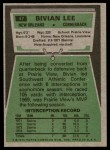 1975 Topps #47  Bivian Lee  Back Thumbnail