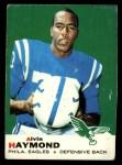 1969 Topps #16  Alvin Haymond  Front Thumbnail