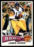 1975 Topps #338  James Harris  Front Thumbnail