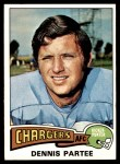 1975 Topps #68  Dennis Partee  Front Thumbnail