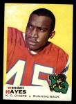 1969 Topps #58  Wendell Hayes  Front Thumbnail
