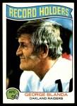 1975 Topps #351   -  George Blanda Record Breaker Front Thumbnail