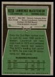 1975 Topps #360  Lawrence McCutcheon  Back Thumbnail